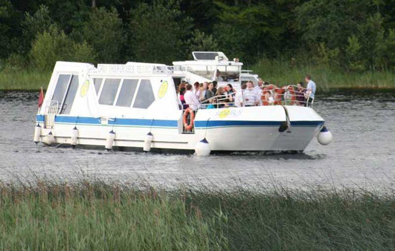 Group on a boat tour in Sligo