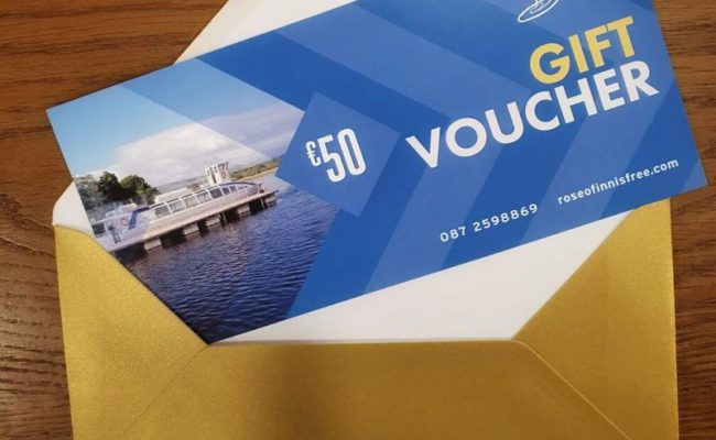 Rose of Innisfree Gift Voucher for Boat Tour