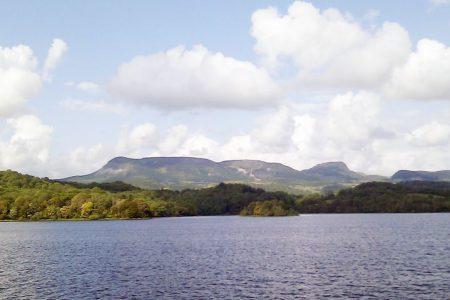 The Sleeping Giant Mountain Leitrim